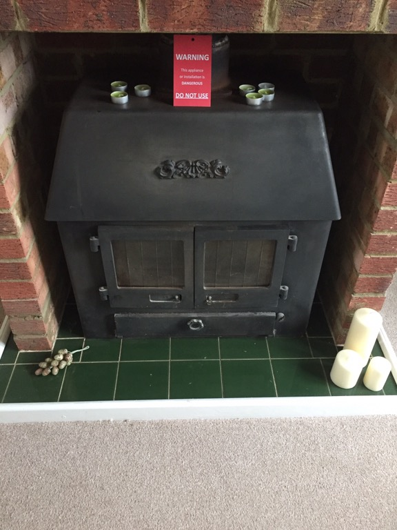 Chimney out of use